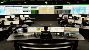 Enterprise data command center for IT Security services